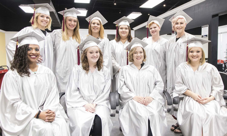 2017 Summer Cosmetology Graduates